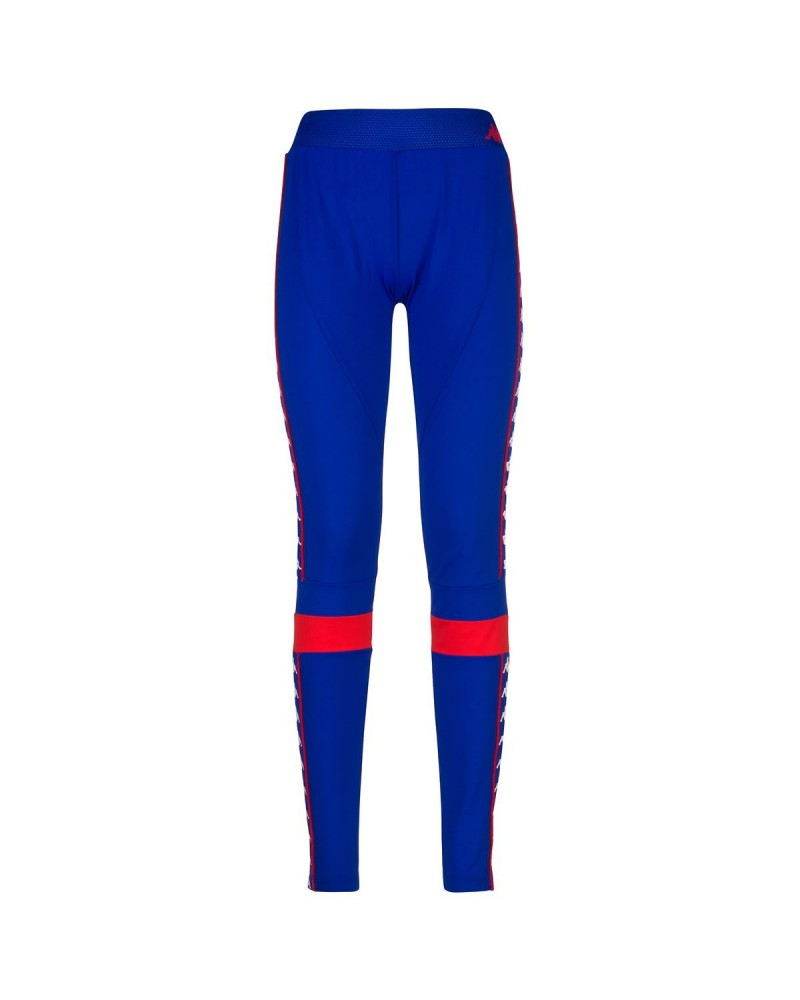 kappa AUTHENTIC BURTA pants sport trousers(blue royal-red)