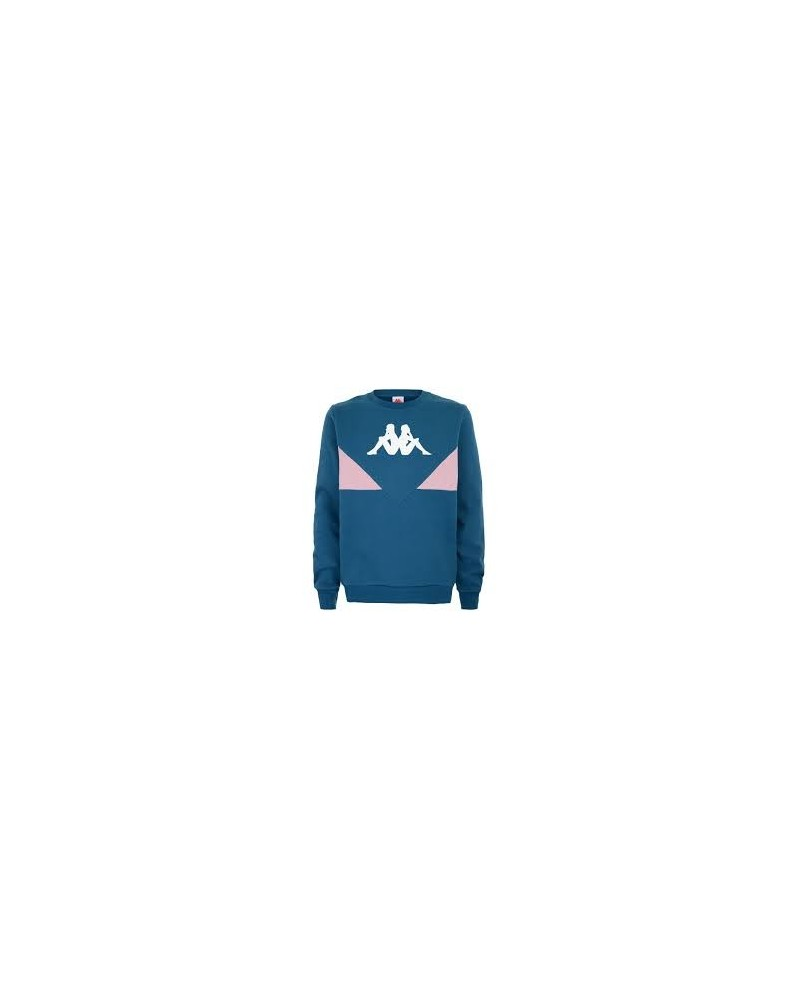 kappa AUTHENTIC 90 BRUM fleece jumper(blue petrol-pink)