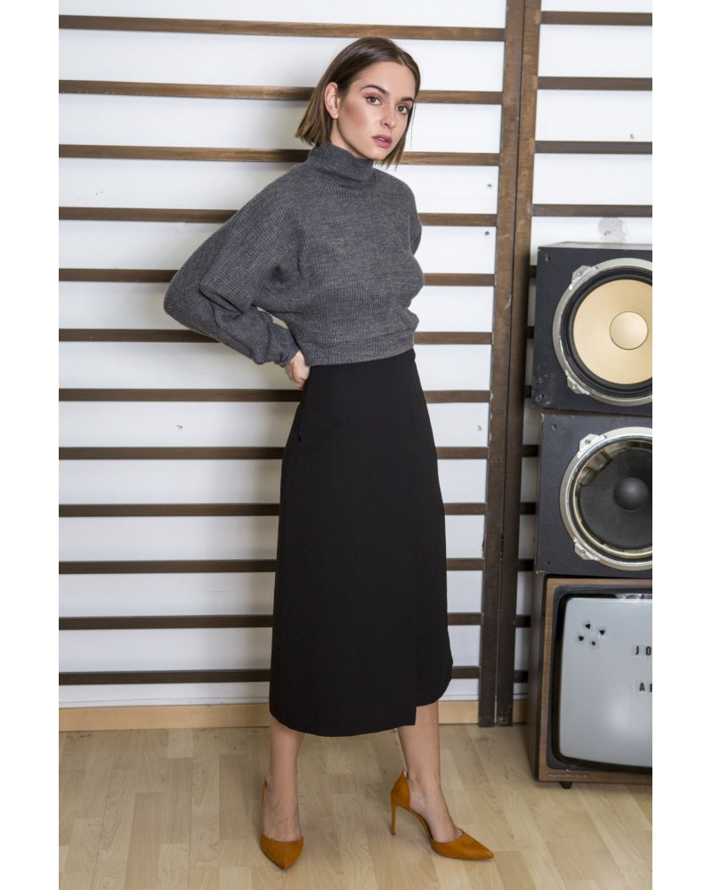 tag modest clothing MILEY pants/skirt black)