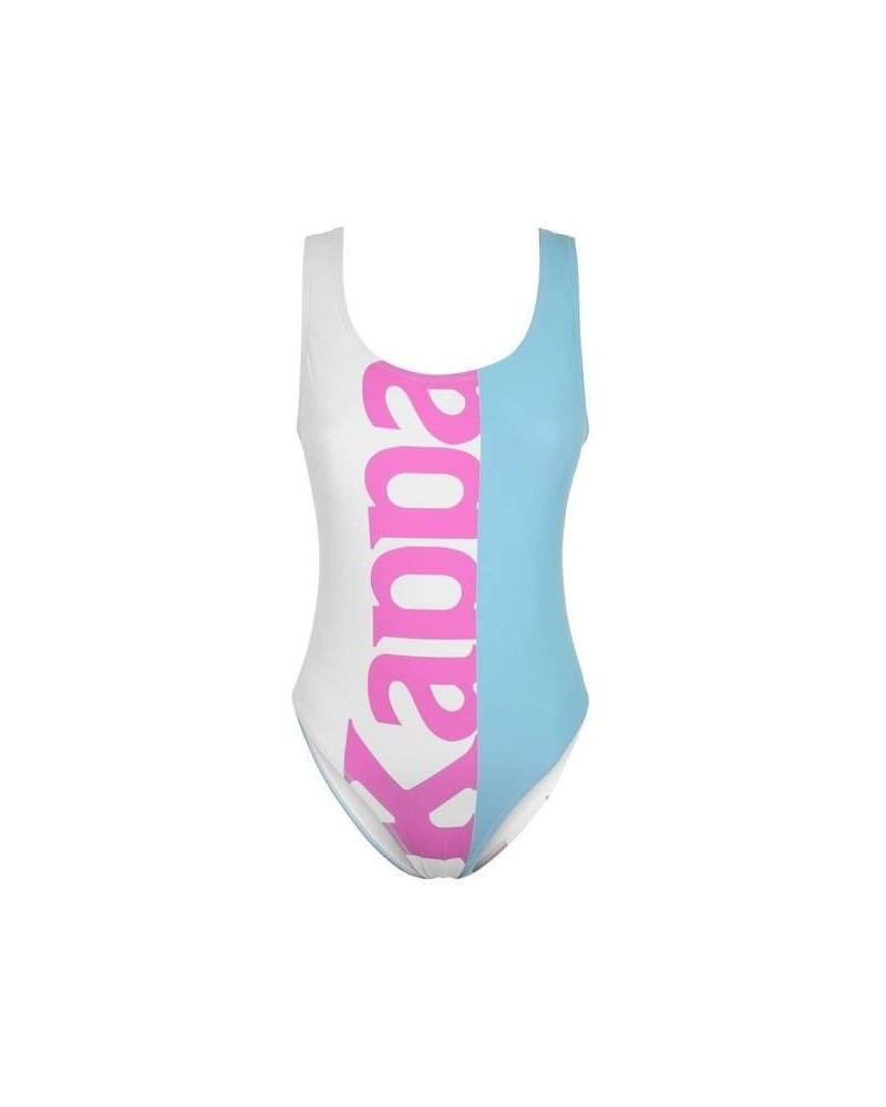 kappa AUTHENTIC SAND CADY SWIMWEAR (WHITE-GREENAQUA-PINK)