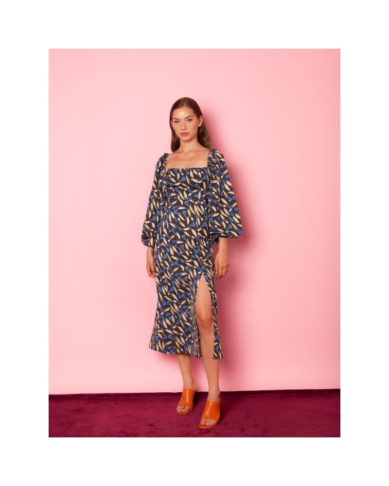 mallory the label Bleading Heart Floral Dress