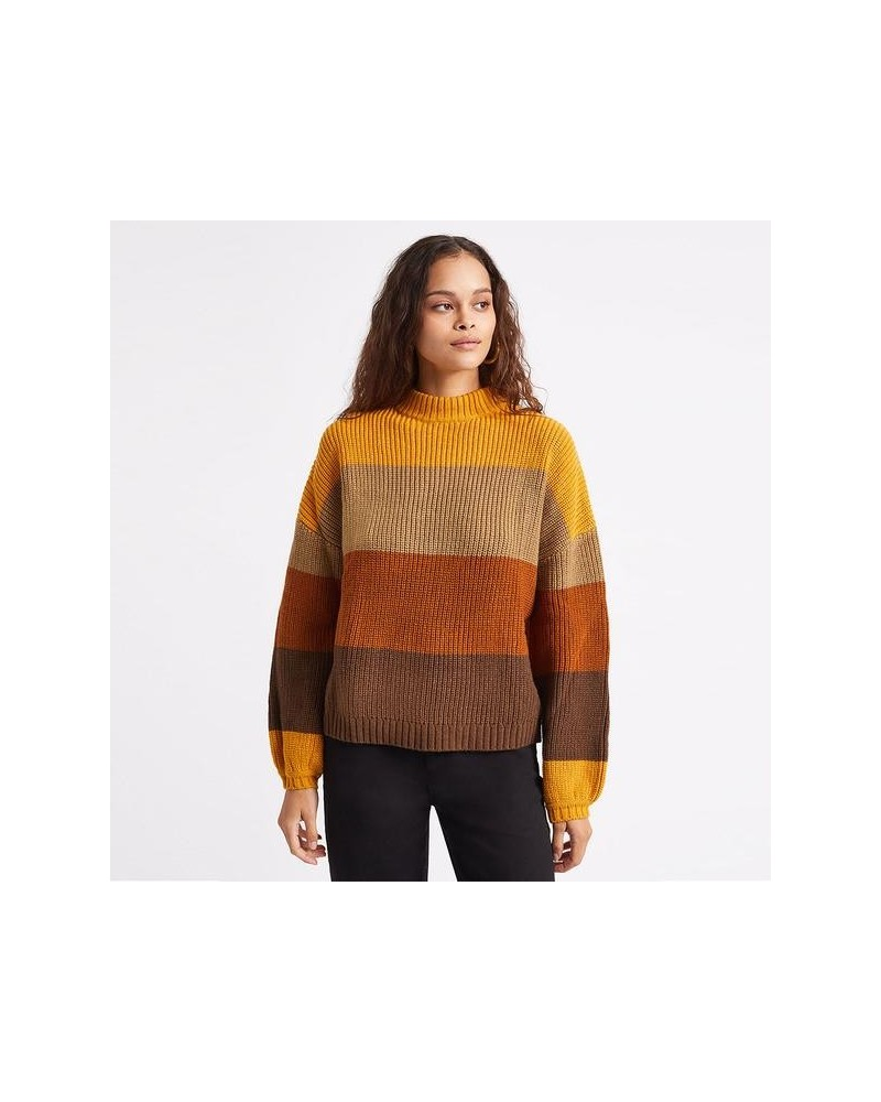 BRIXTON madero sweater (honey gold)