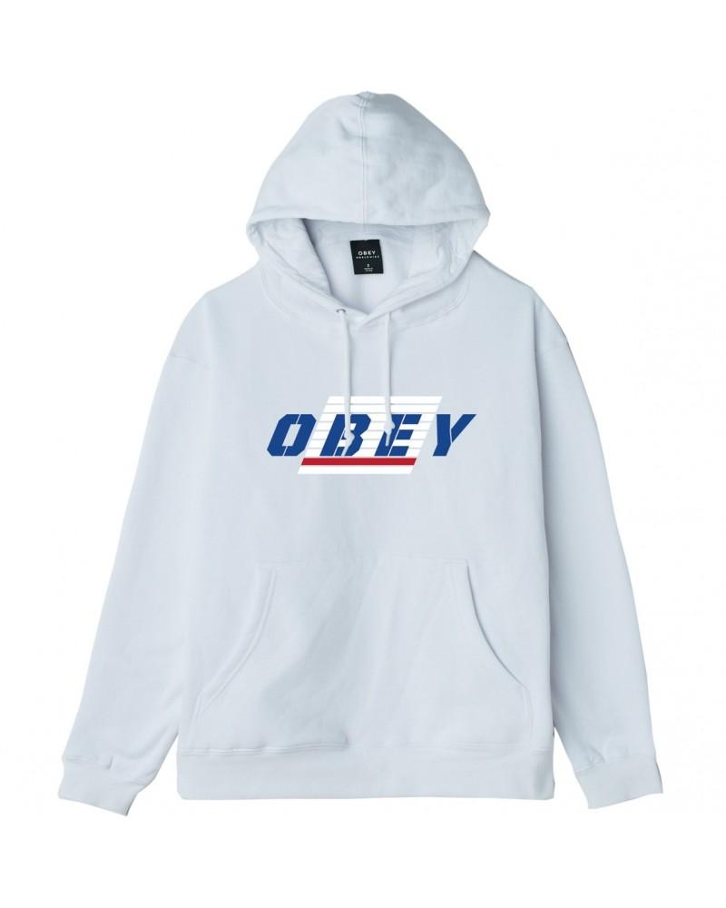 obey se sports! box fit hooded fleece
