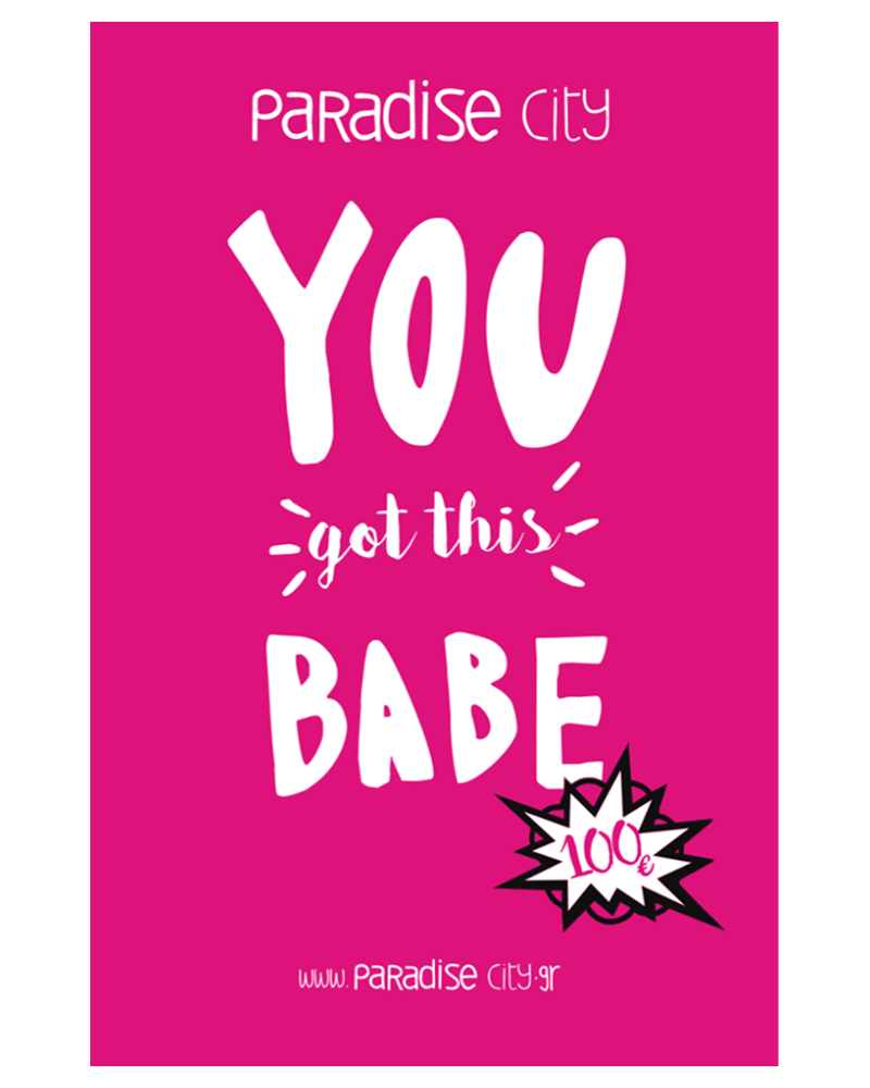 GIFT CARD neon pink