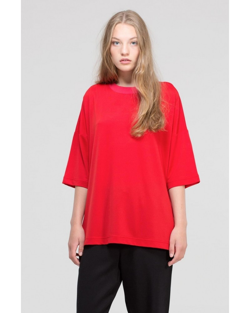 dr denim BELINDA TOP vicius red