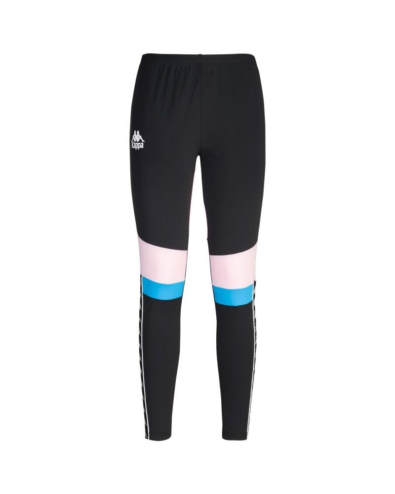 AUTHENTIC FOOTBALL ESHU (Black-soft pink-blue) kappa