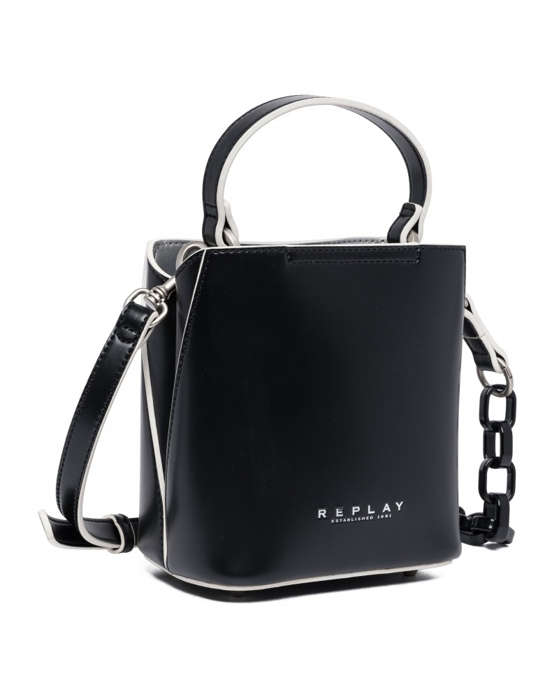 REPLAY ESTABLISHED 1981 HANDBAG